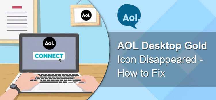 AOL Desktop Gold Icon Disappeared