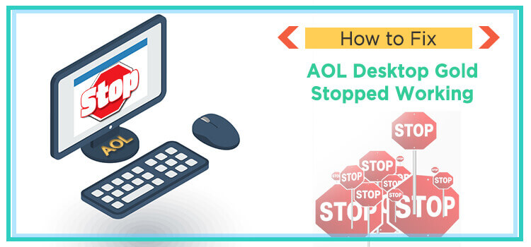 AOL desktop gold stopped working