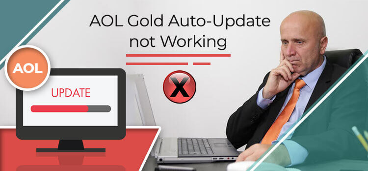 AOL Gold auto update not working