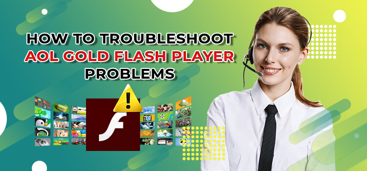 AOL gold flash player problems